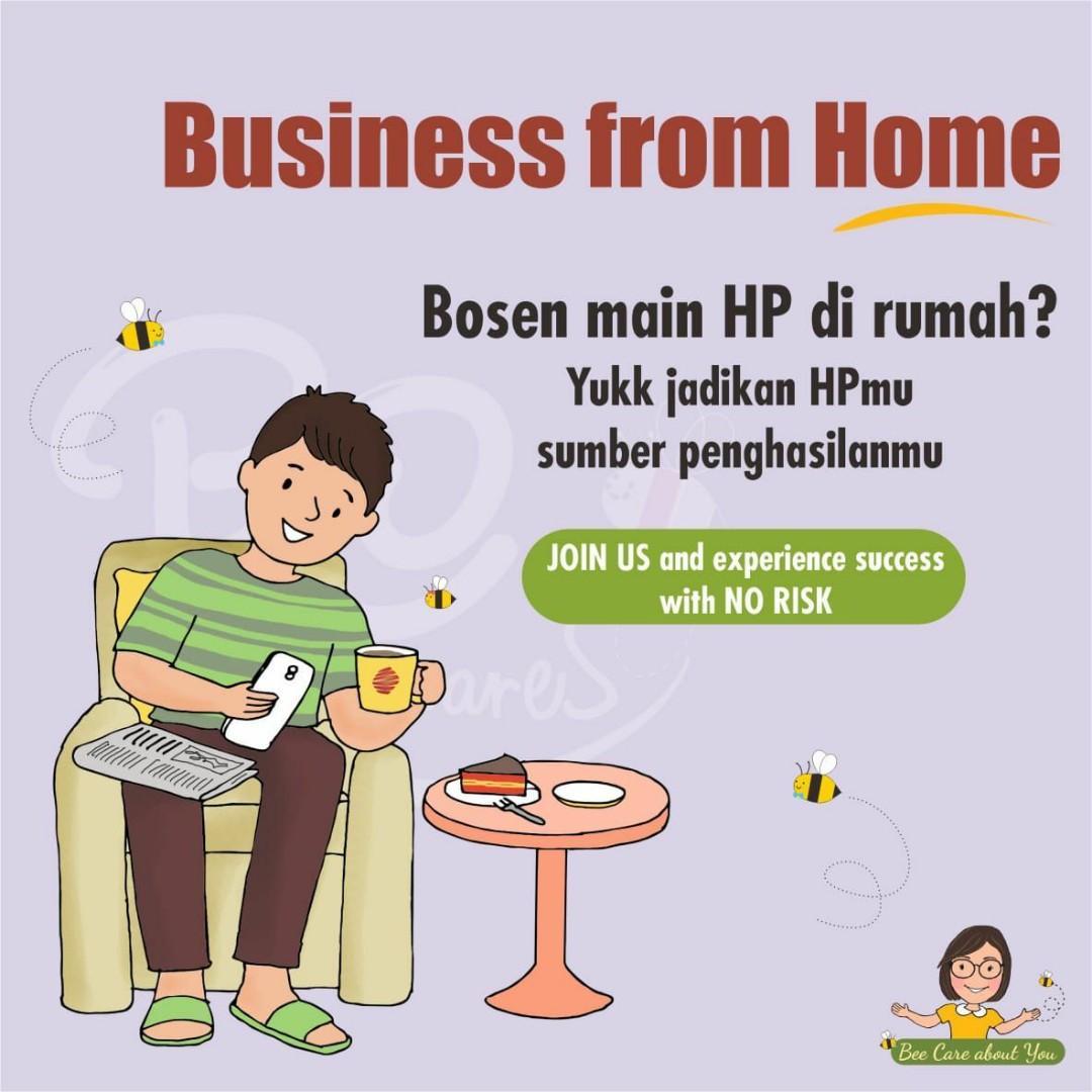 Reseller Produk Lebah Kekinian Clover Honey - Peluang Bisnis Dari Rumah