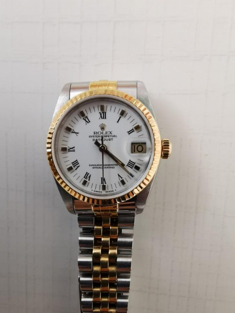 Rolex 68273 Datejust Automatic Watch 31mm Full Set