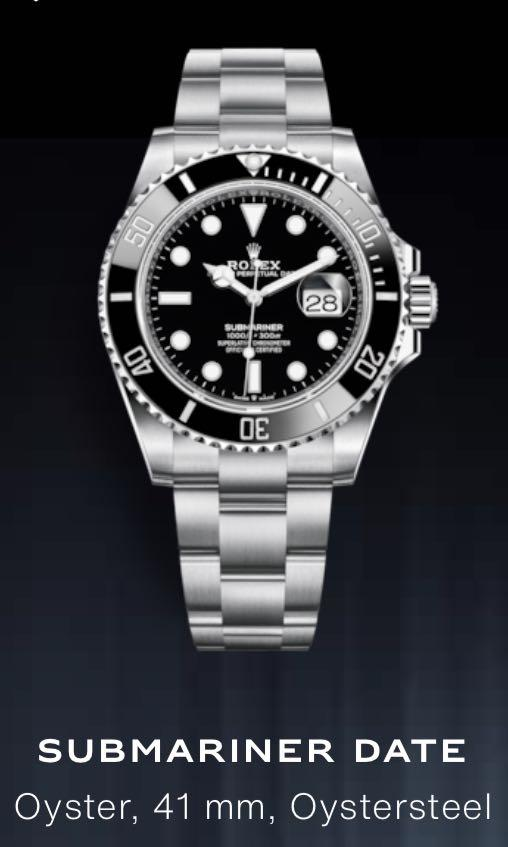 Rolex latest 41mm dated September 2020