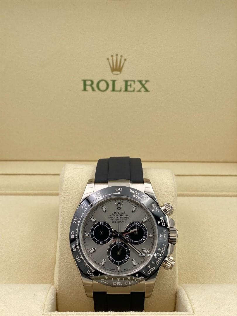 Rolex White Gold Daytona 116519