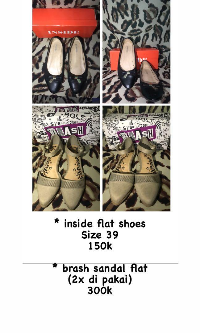 Sandal & sepatu flat