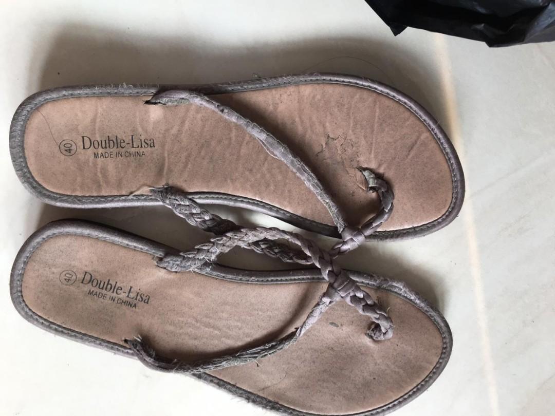 Sandal Coklat Size 39 (Jual apa adanya)
