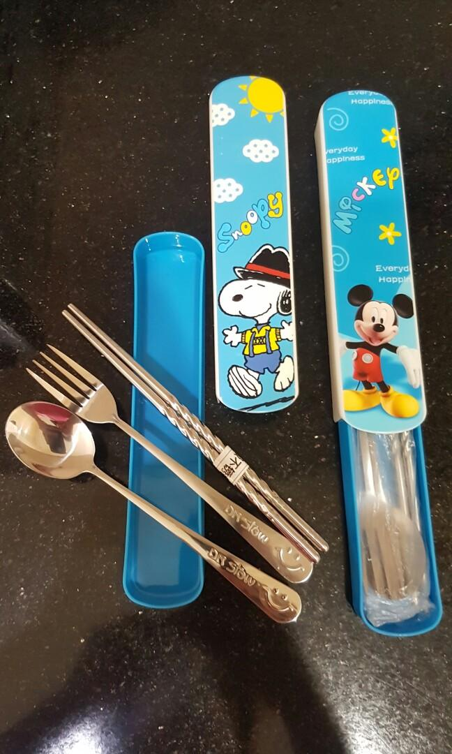 #oktobersale2 set Sendok garpu sumpit