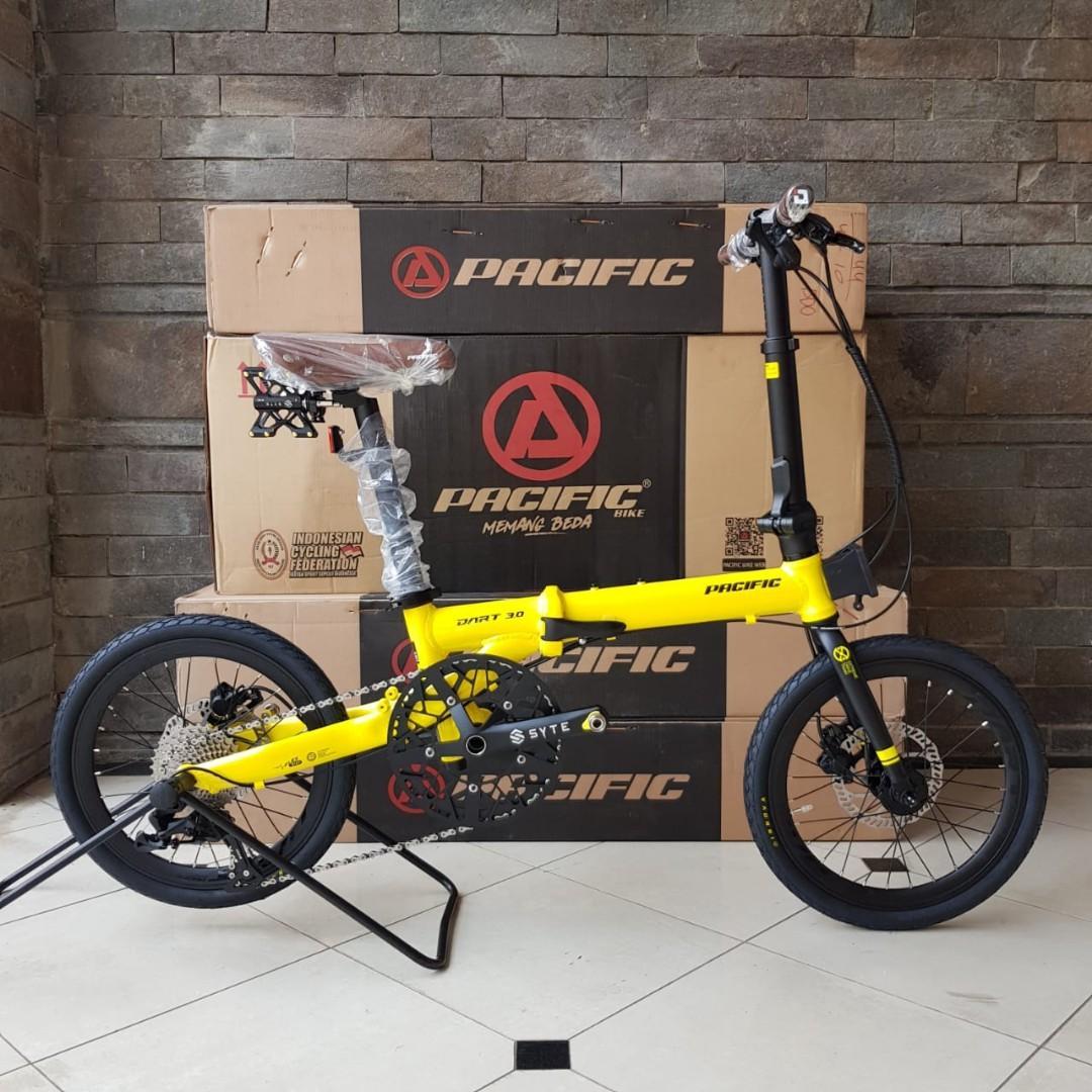 Sepeda Lipat Pacific Dart 3.0 Yellow