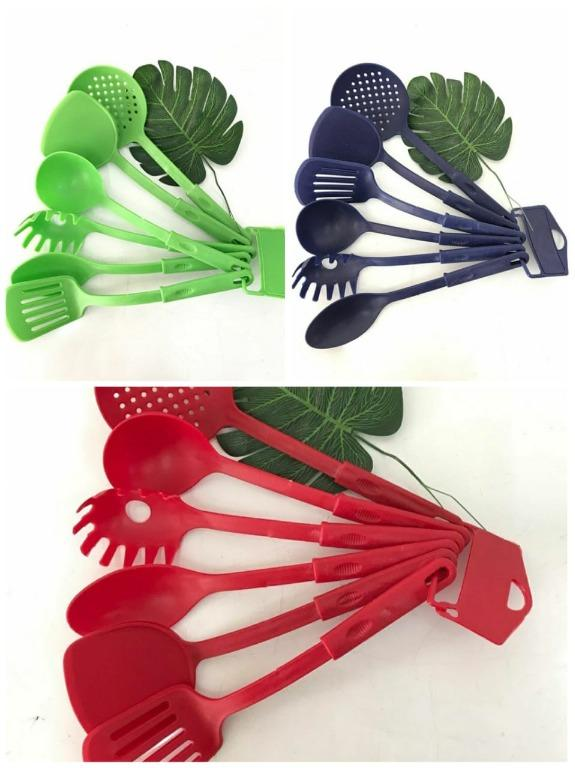 SPATULA PLASTIK SET WARNA / SUTIL SODET ALAT MASAK KITCHEN TOOLS