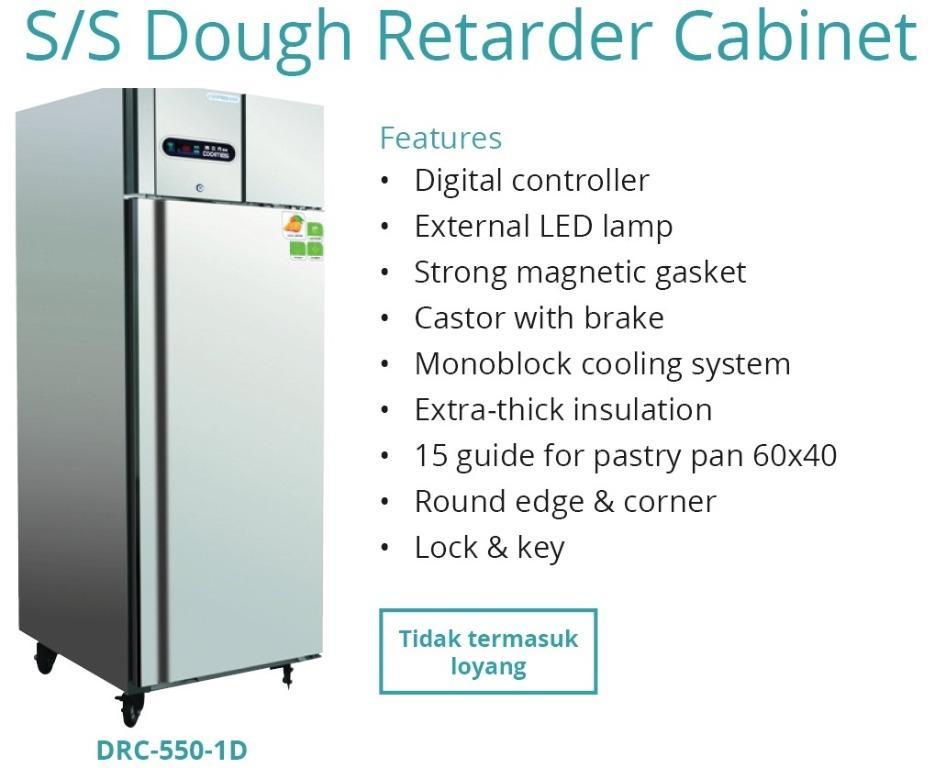 S/S DOUGH RETARDER CABINET(DRC-550-1D)