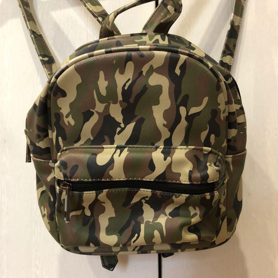 Stradivarius army backpack