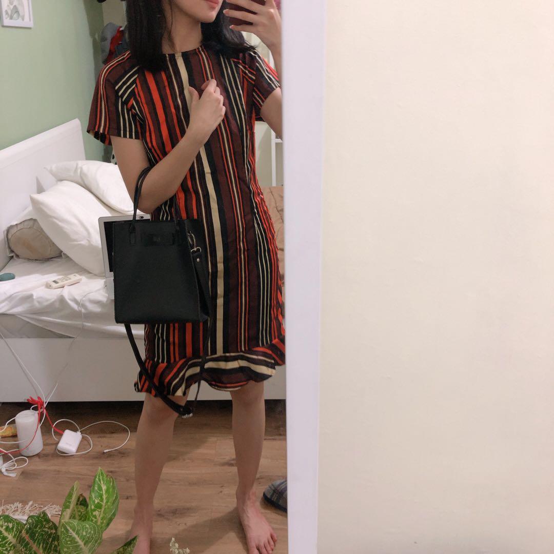 Stripes Sale Stock Dress