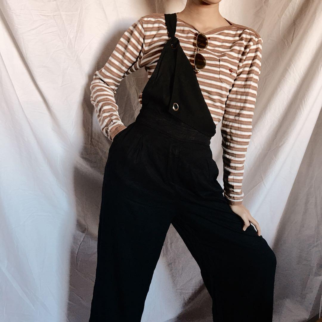 Sweater Kaos Sweatshirt Atasan Stripe Garis