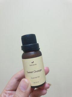 Sweet orange aromatherapy pure essential oil 15ml  bathaholic