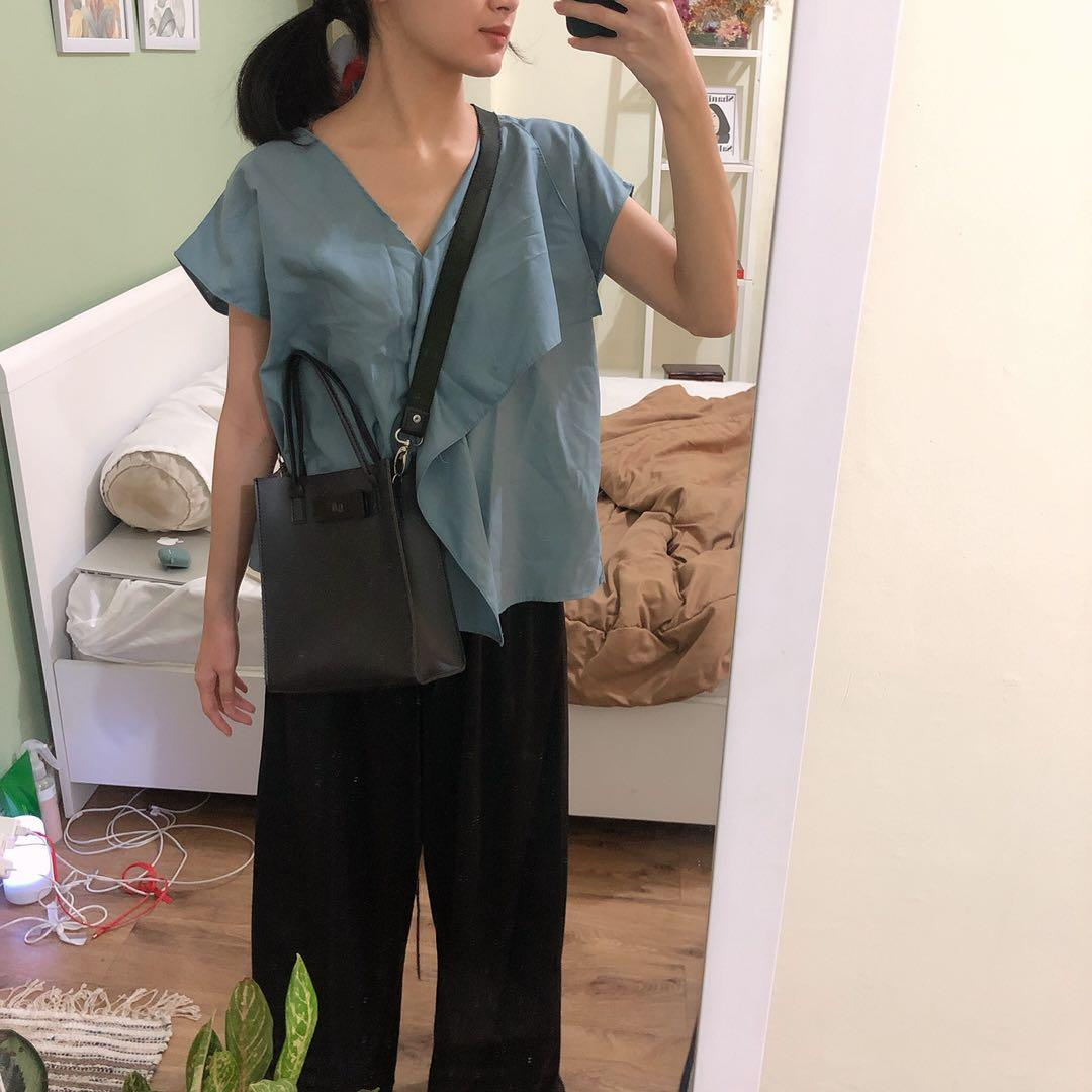 Teal Blouse Daily