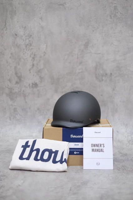Thousand Heritage Helmet - Stealth Black size M