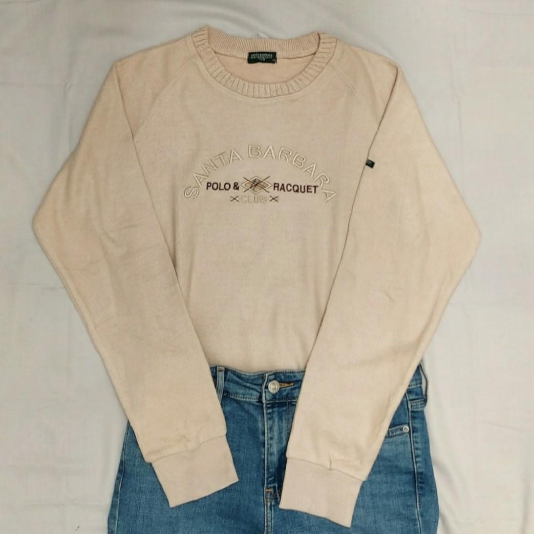 Thrift Polo Crewneck