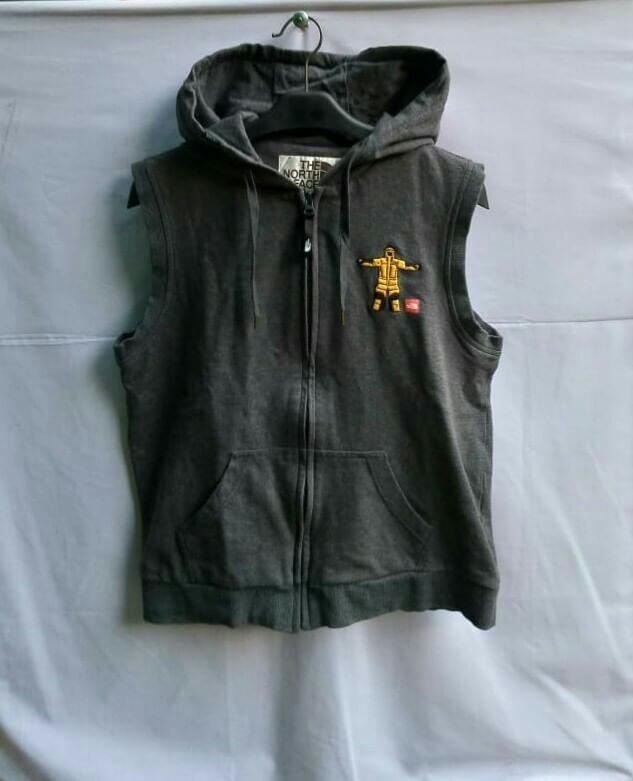 TNF vest zip hoodie
