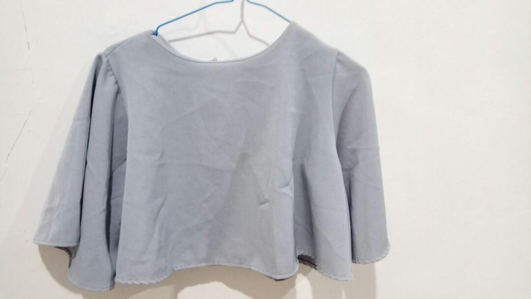 Top atasan luaran baju wanita