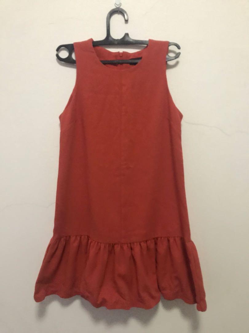 Topshop christmass ruffle dress #promodressaja