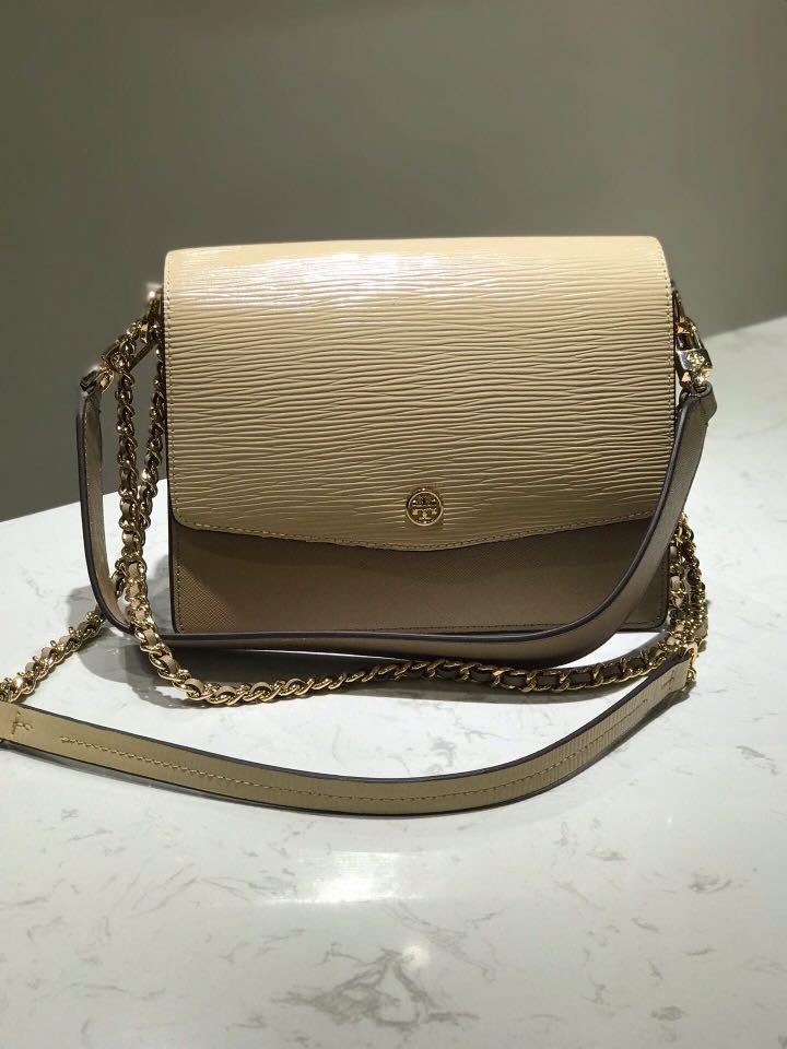 Tory Burch Robinson Convertible shoulderbag handbag slingbag