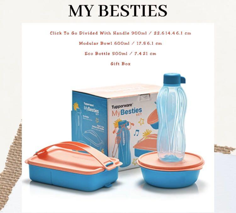 Tupperware My Besties