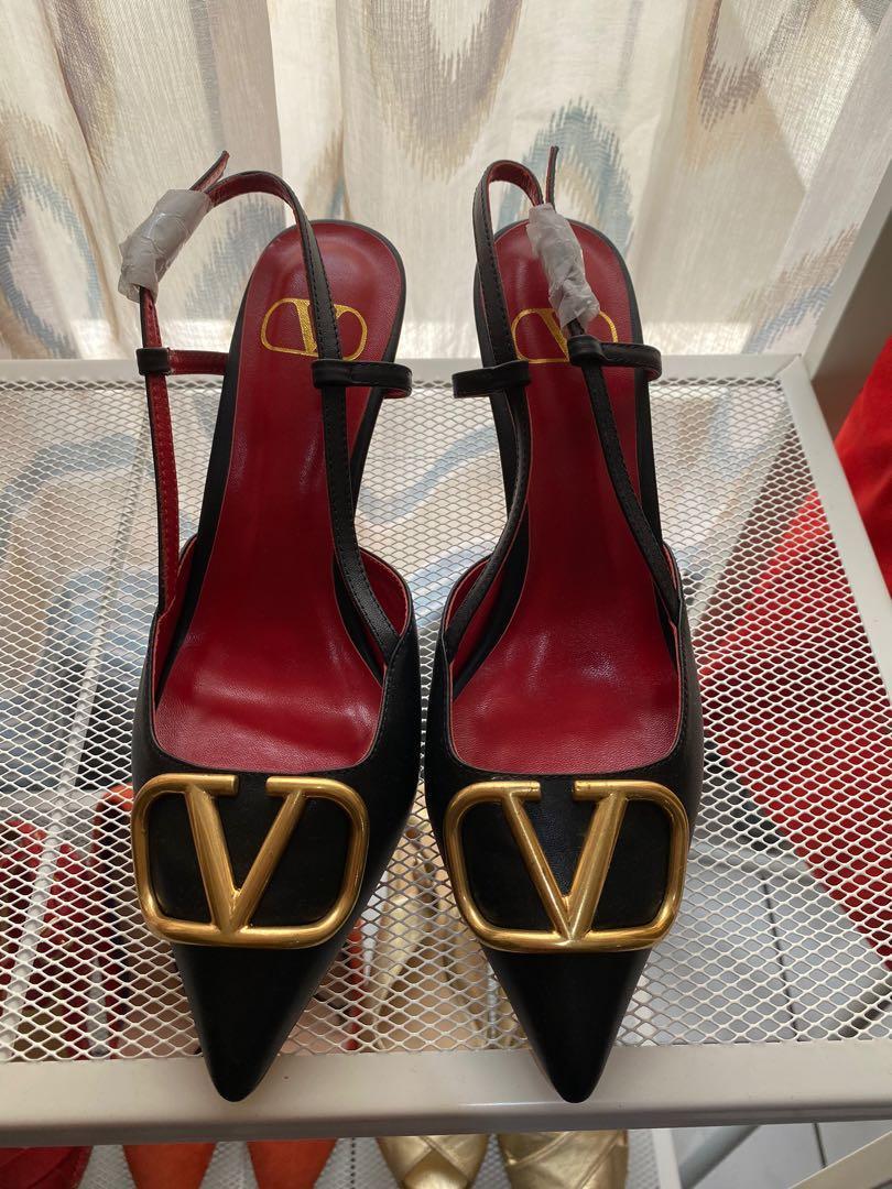 Valentino Leather Black size 40