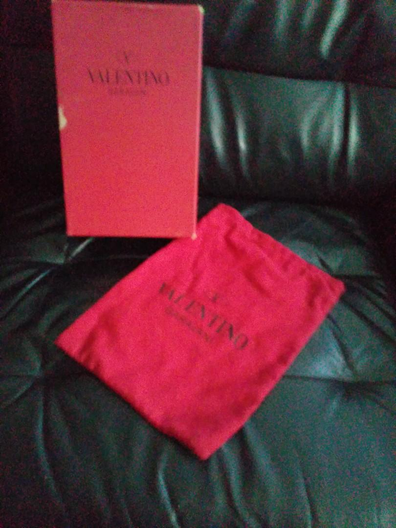 Valentino Shoe box and dust bag