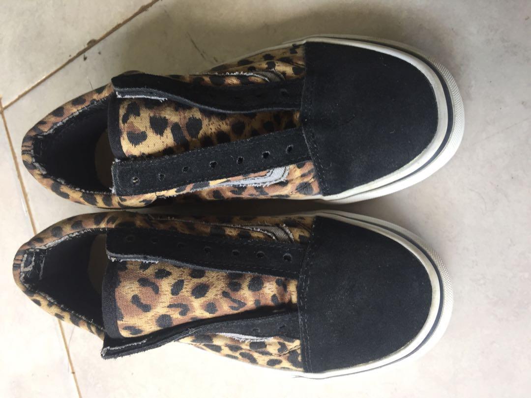 Vans leopard original sol aman