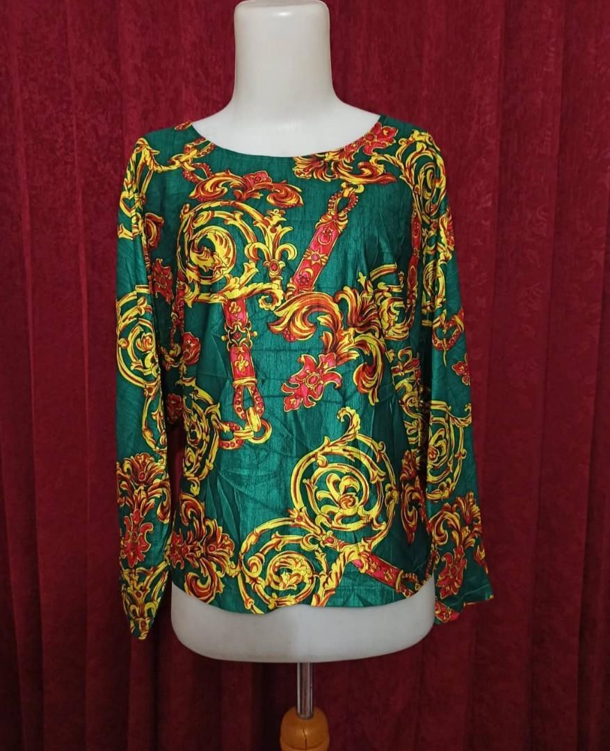 Vintage blouse AIR MAIL