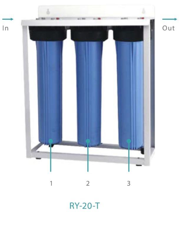 WATER FILTER & ICE BIN(RY-20-T)