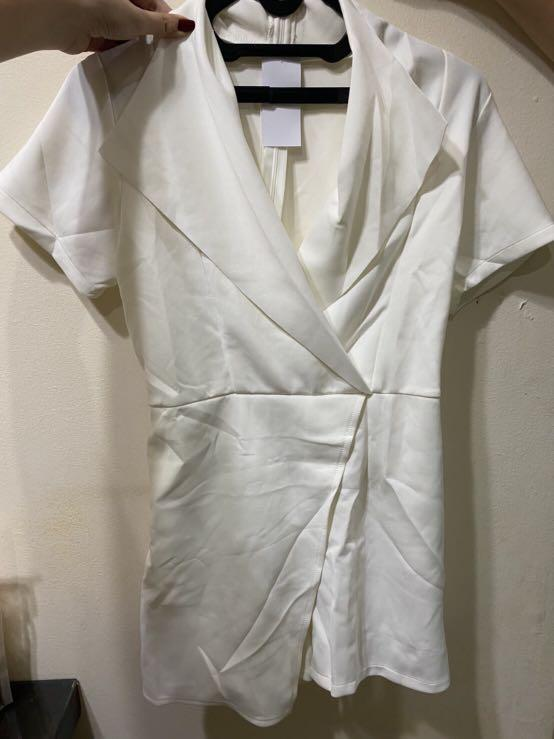White Jumpsuit Local Brand (New)