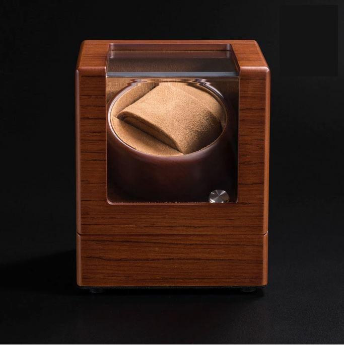 Wooden Automatic Watch winder for Automatic mechanical watches wooden display box