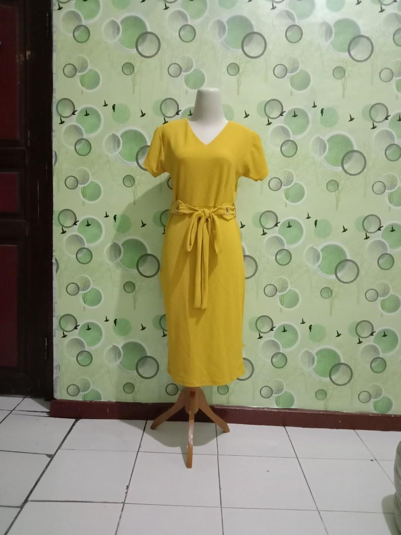 Yellow dress new