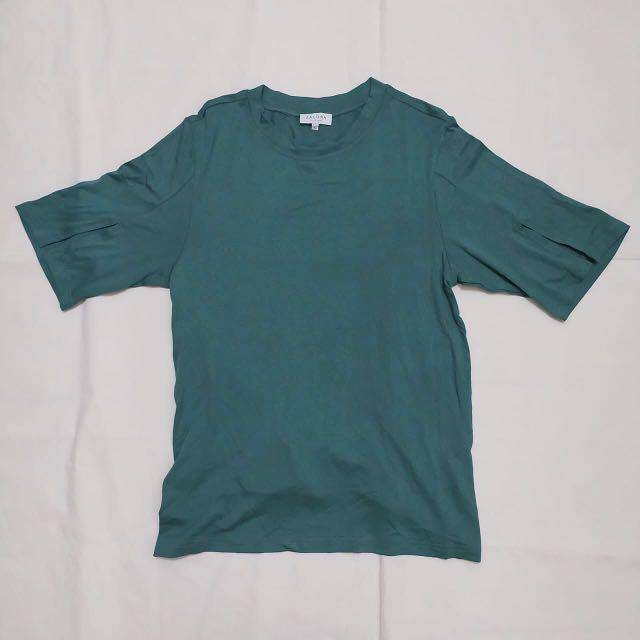 Zalora Basic Green T-Shirt