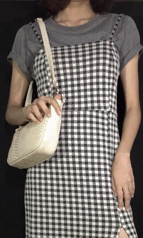 Zara Checkerboard Dress