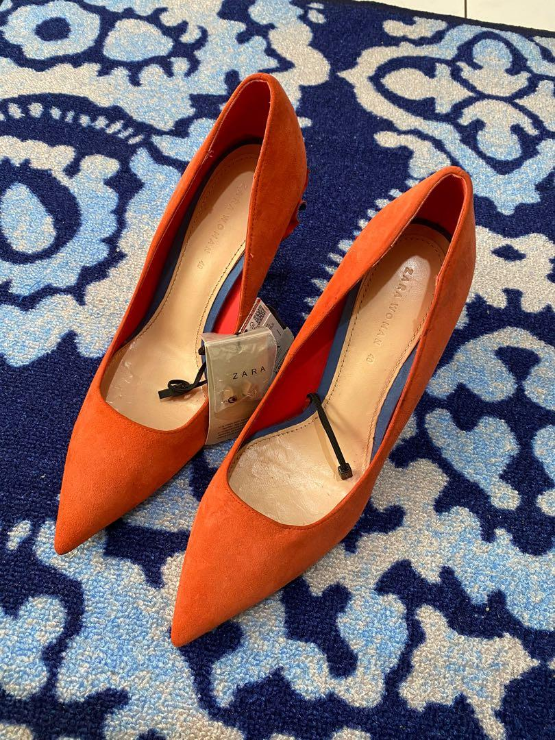 Zara Leather Pumps Shoes size 40