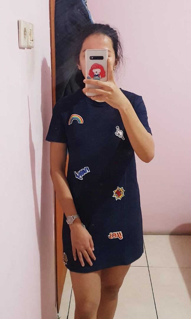 Zara Patch Dress