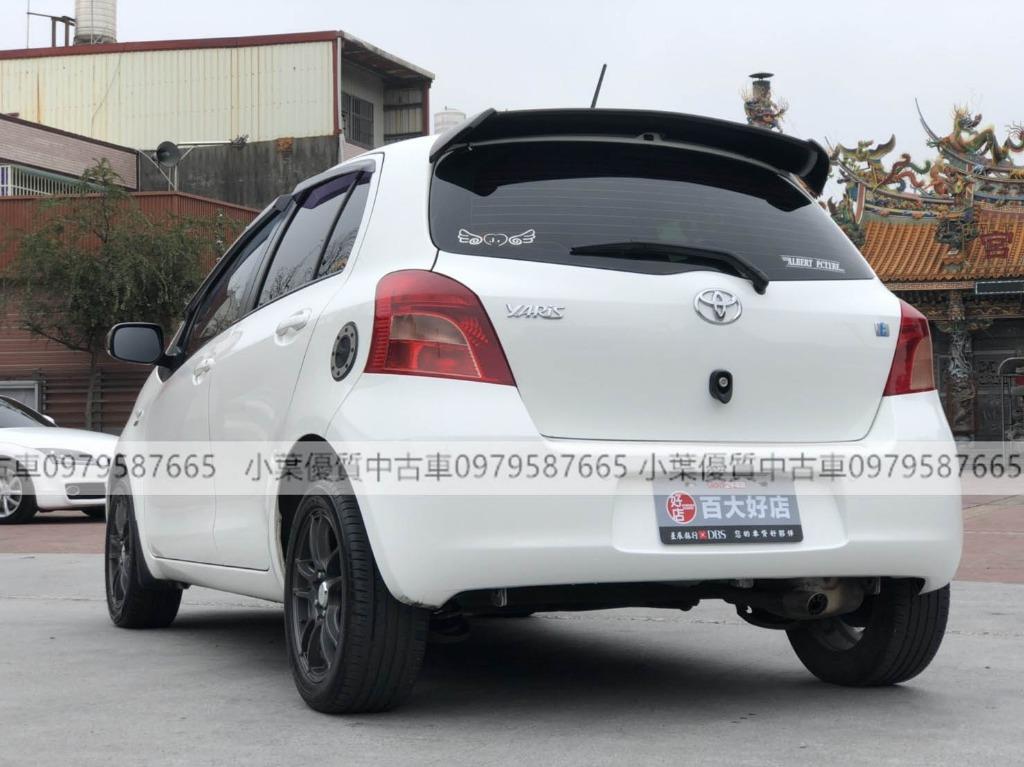 專辦全額貸 零元可交車 2008 YARIS  廠牌型號 TOYOTA YARIS  車輛年份: 2008 地區: 桃園 專線 : 0981830423 LINE:a0981830423