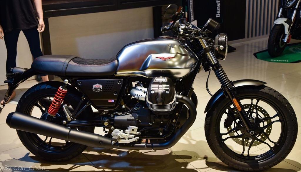 ✨ Moto Guzzi V7III STONE S 【全球限量】