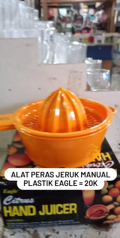Alat Peras Jeruk Manual Plastik (Citrus Hand Juicer) Eagle