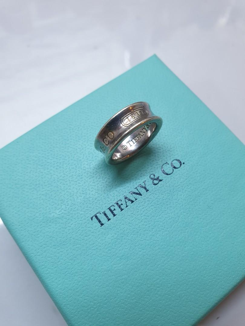 Authentic Tiffany & CO 1837 ring