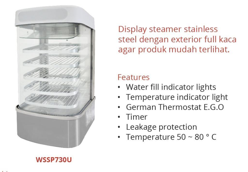 BAKPAU STEAMER (WSSP730U)