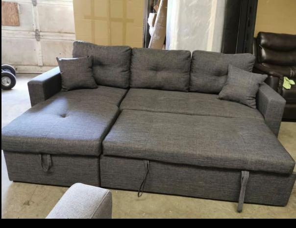 Brand New Reversible Sectional Sofa Bed FREE DELIVERY