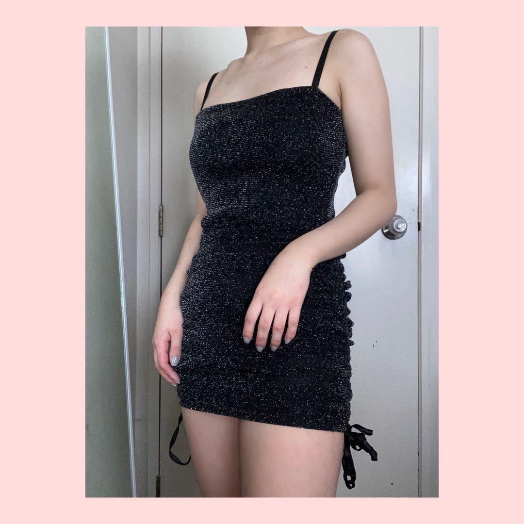 Brand new Showpo sparkly mini dress