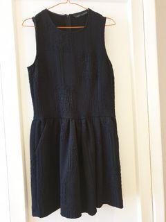 Classic Little black dress by Zara woman