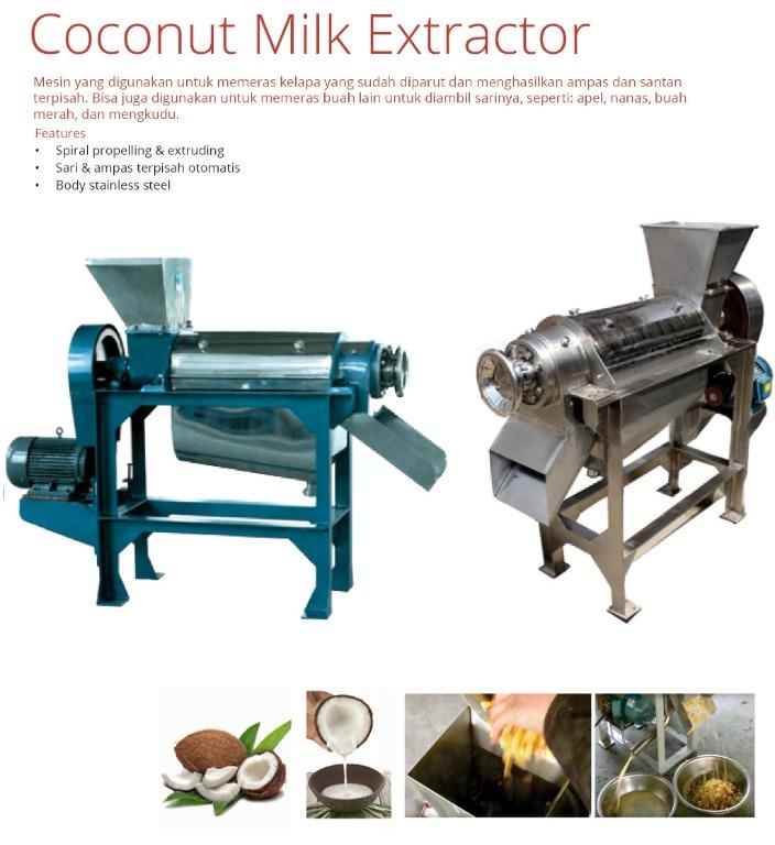 COCONUT MILK EXTRACTOR (LZ-1,5)