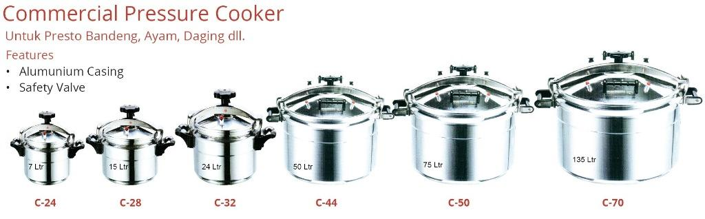 COMMERCIAL PRESSURE COOKER(C-50)