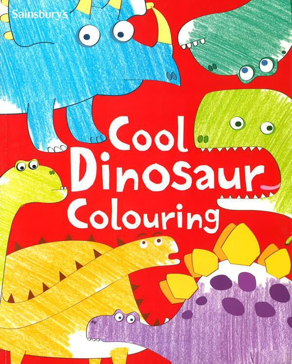 Cool Dinosaur Colouring Book Books Stationery Children S Books On Carousell