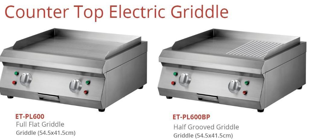 COUNTER TOP ELECTRIC GRIDDLE(ET-PL600BP)