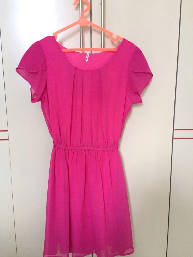 Dress/Gaun Wanita Pink #promodressaja
