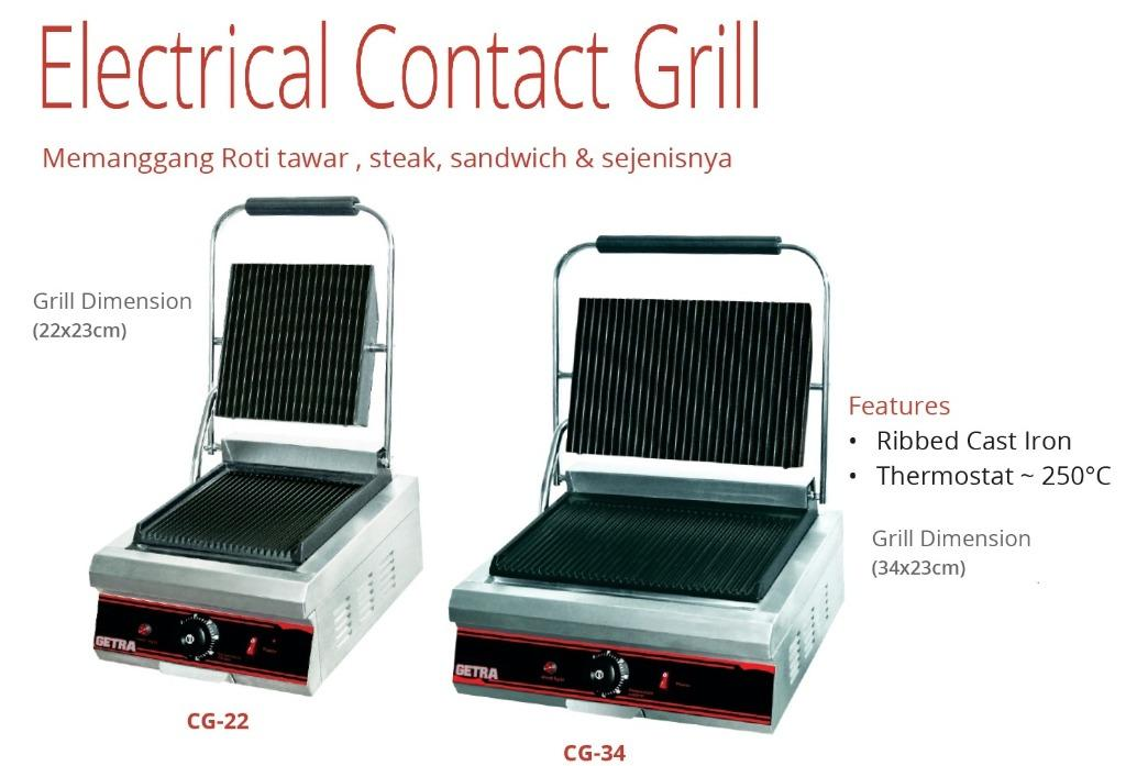ELECTRIAL CONTACT GRILL(CG-34)