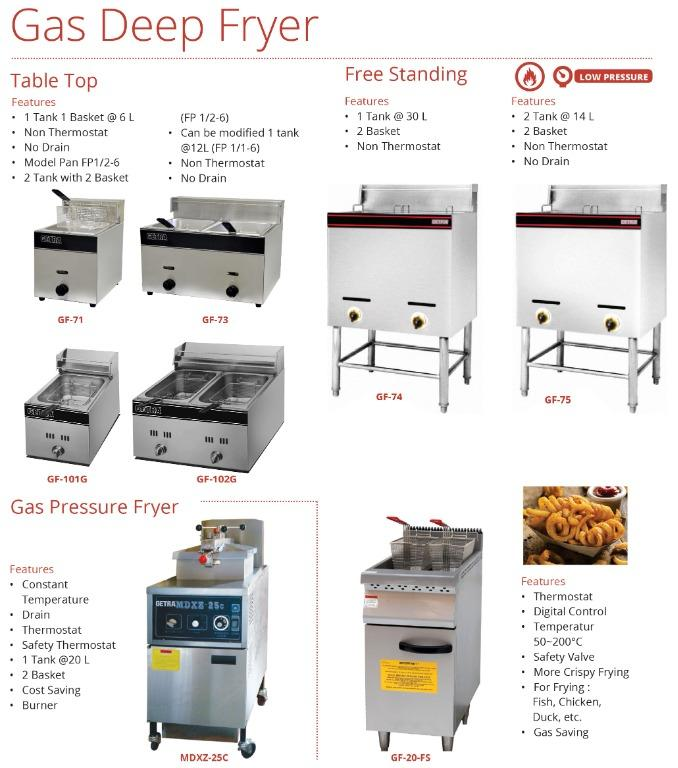 GAS DEEP FRYER(GF-73)