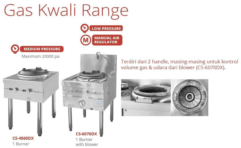 GAS KWALI RANGE(CS-6070DX)